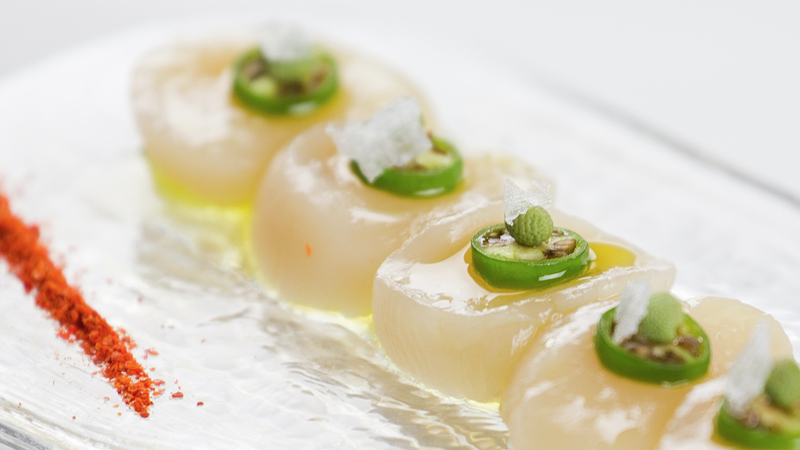 LT Scallop Carpaccio